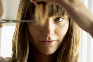 How to Cut Bangs Using the Twisting Technique