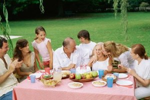 Plan a party and surround her with relatives and close friends.