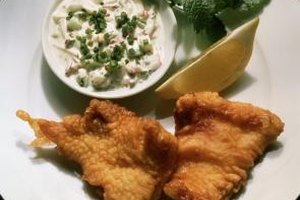 Cornmeal adds a delicate crunch to flaky, fried fish.