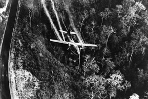 What Kind of Aircraft Was Used to Transport & Spray Agent Orange?