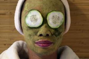 Homemade treatments gently even out skintone.