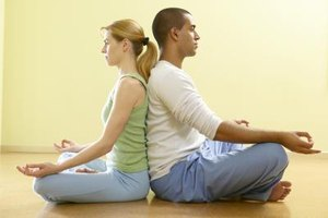 Try meditating with your partner to become more comfortable with silence.