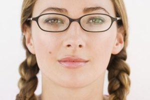 Horiztonal style glasses can help elongate a round face.