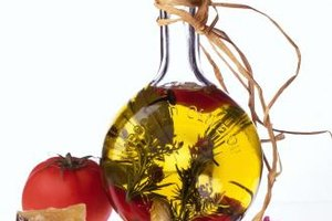 Simple olive oil dressings can store for months in the fridge.
