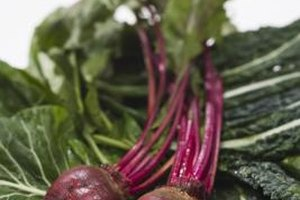 Beets are in the chenopod family along with chard, spinach and quinoa.