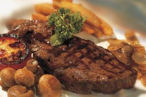 Well-refrigerated steaks are usually safe to eat even after their sell-by date.