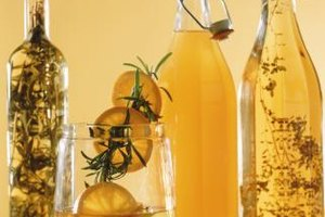 You can steep nearly any fruit or herb in vodka or oil.