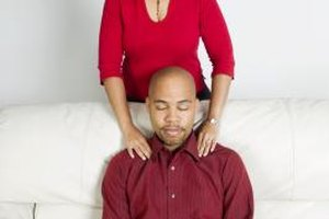 Asking your spouse for a massage can help to ease stress that triggers bad behavior.