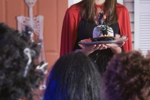 Black frosting can be handy for Halloween and other special occasions.