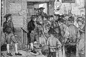 Which Event in 1765 Caused the Colonists to Protest Against the British Government?