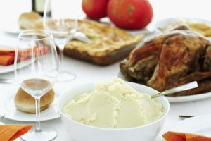 Substitute flavored cooking liquid for milk in mashed potatoes.