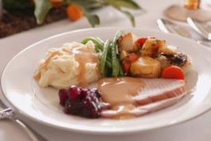 Cream can enrich turkey gravy, or make a rich white gravy on its own.