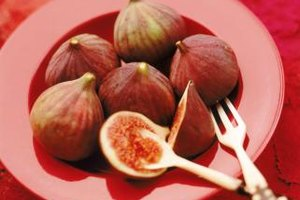 The flesh of the figs should be ripe enough to scoop with a spoon, but not mushy.