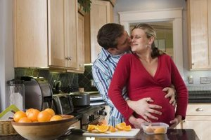 Support from the father-to-be can have a positive influence on prenatal development.