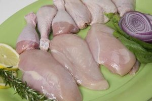 Choose lean cuts of chicken for slow-cooker meals.