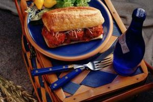 Frozen meatballs can be quickly converted to a meatball sub.