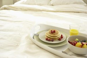 Serve your beloved breakfast in bed for maximum impact.