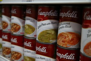 How to Donate Campbell's Soup Labels