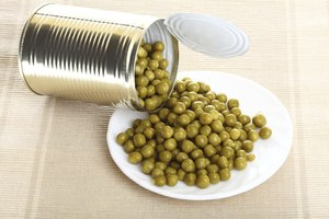 How to Microwave Canned Peas