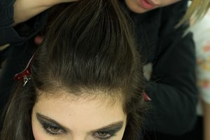 How to Volumize the Front of an Updo