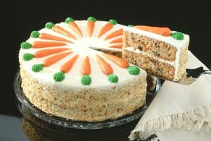 Carrot cake is a perfect Easter dessert.