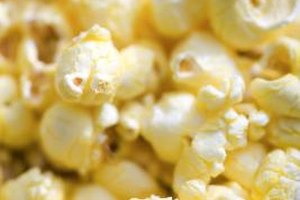 Grill your popcorn over high heat.