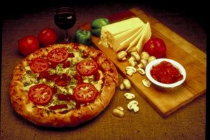 When making a three-course meal, pizza remains a fast and easy entree.