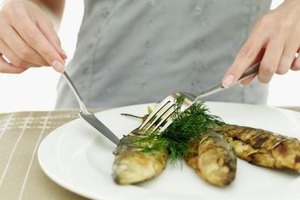 Pan fry whole whiting to create crisp skin without flour.