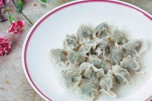 Boiled dumplings are tender and moist.