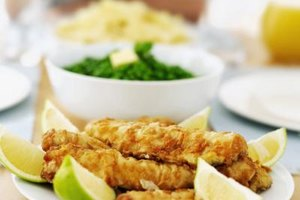 Breaded, or crumbed, chicken can be the center of a family meal.