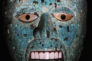 Religious Aztec Masks