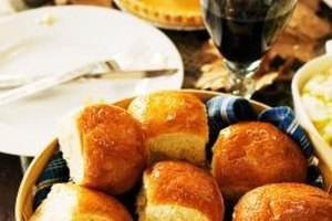 Soft dinner rolls need milk, eggs and sugar to tenderize the dough.