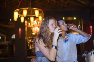 Engaging in different social events may reduce an alcoholic's temptation to drink.