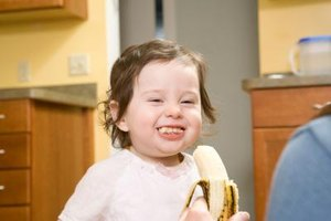 Bananas are tasty, nourishing and portable for busy toddlers.