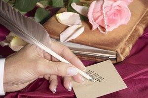 Etiquette of Addressing Wedding Invitations in Ink