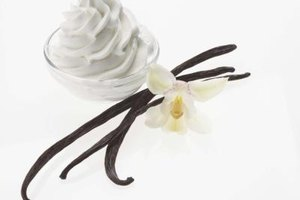 Vanilla extract is made with chopped vanilla beans, ethyl alcohol and water.