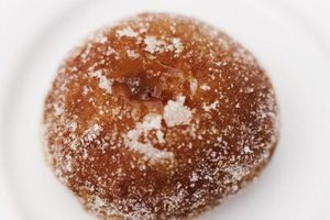 Try out different flavors for your doughnuts fried in olive oil.