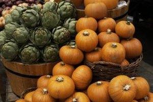 Smaller cultivars of pumpkin make for tastier puree.