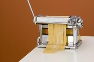 Hand-cranked pasta rollers or stand mixer pasta attachments make homemade pasta easy.