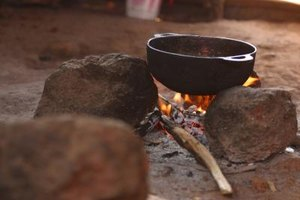 Dutch ovens were campfire necessitites for American pioneers and cowboys.
