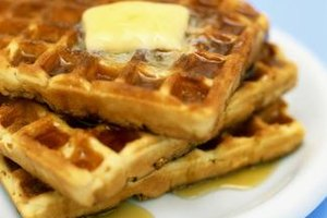 Breakfast for dinner -- especially when it contains homemade waffles -- is sure to be a hit.