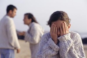 Both divorce and emotional abuse can take a toll on children's mental health.