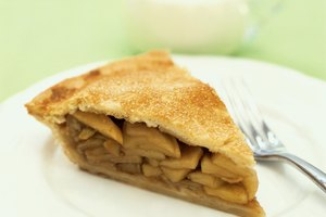 Calorías de una porción de pastel de manzana