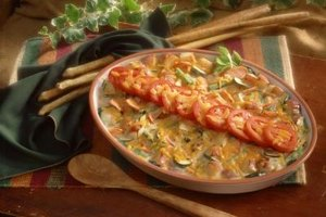 Make an extra casserole and store it in the refrigerator for dinner the following night.