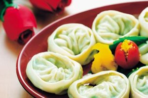 Steamed dumplings are an ideal finger food for your next party.