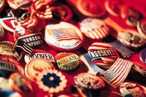 Who Was the First President to Use Campaign Buttons?