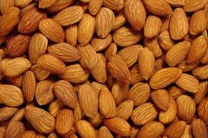 Almond meal is made from unblanched, whole almonds.