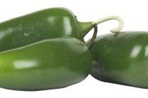 Stuffed jalapenos are easier to bite when the pepper has been blanched first.