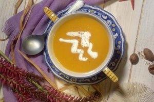 Beautiful soup deserves a beautiful presentation.