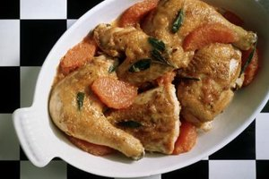 Chicken leg quarters are often more economical than pre-seperated legs and thighs.